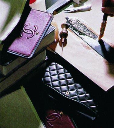 香奈儿手袋手工制作过程