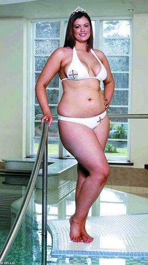 胖女孩击败一群骨感美女