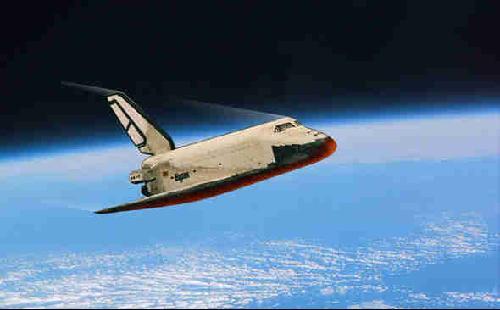 """资料图片:苏联""""暴风雪""""号航天飞机"""