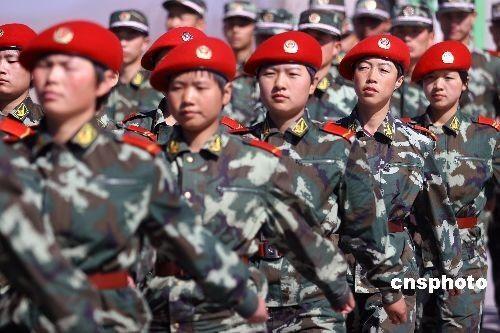 武警特警学院之后,中国武警在