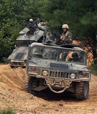 美国军用版悍马