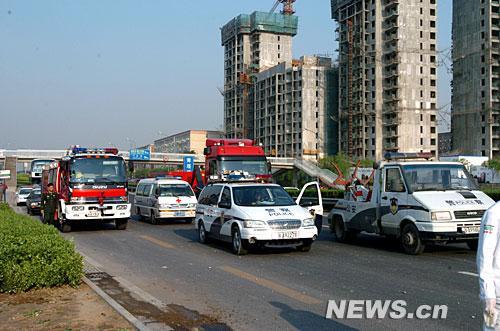 北京莲石路发生惨烈交通事故