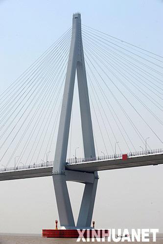 世界最长杭州湾跨海大桥通车在即[组图]