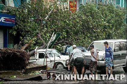 缅甸热带风暴遇难人数升至1.5万人