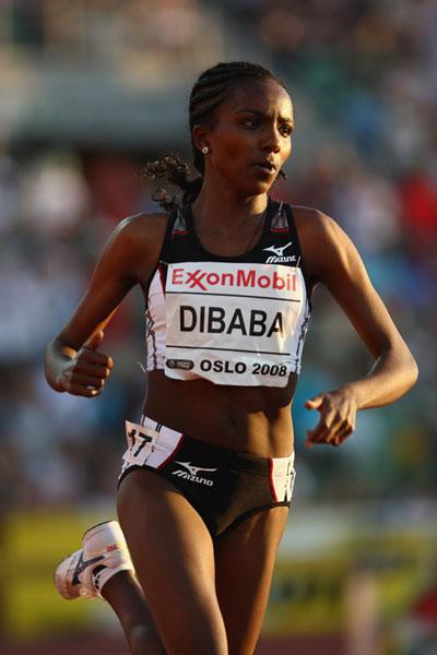 田联黄金联赛奥斯陆站 迪巴巴刷新女子5000米世界纪录