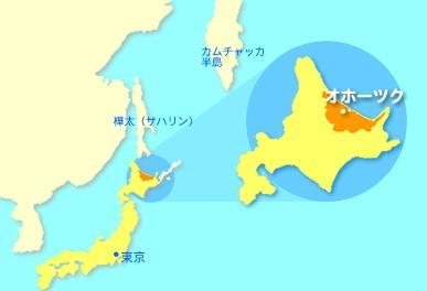 日本网站上的北海道,北方四岛