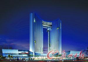东莞富豪家族建五星级宾馆 造型如央视大楼