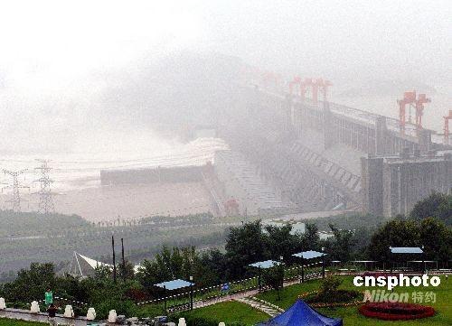 长江三峡大坝高清图片