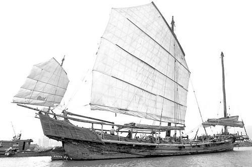 帆船剪纸步骤图解
