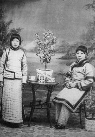 老北京八大胡同里名妓 民国初年高级妓女图片