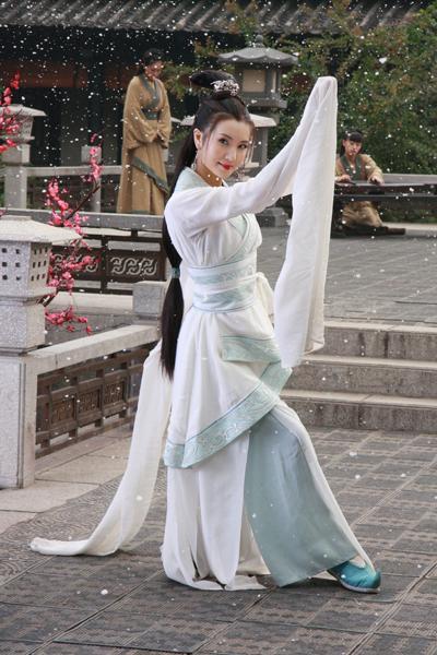 陈好扮貂蝉首演汉代舞 舞袖舞腰秀完美身段图片