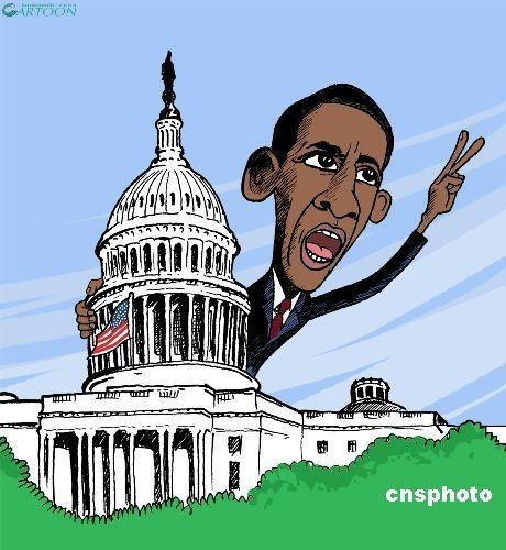 各国总统卡通头像