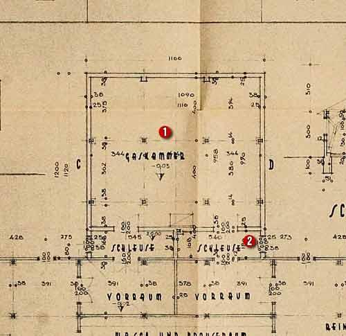 德国发现奥斯威辛集中营图纸原件[组图]