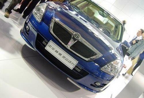 华晨进军混合动力车市场 推油电混合动力版尊驰高清图片
