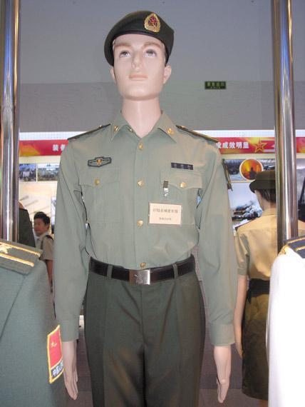军报 回收07军服是为维护专用性防止滥穿现象图片