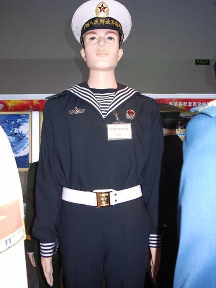 07式海军藏青色水兵服-军报 回收07军服是为维护专用性防止滥穿现象图片