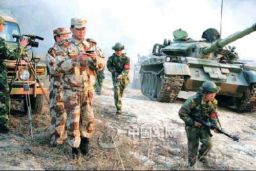 中国有外军模拟部队_军报揭秘中国首支正规化外军模拟部队(组图)_资讯_凤凰网
