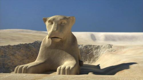 狮身人面像原来有狮头(电脑复原图) 新浪科技讯 北京时间12月9日消息,据英国《每日邮报》报道,考古学家日前宣称,埃及吉萨狮身人面像最初可能有一张狮面,同时修建的年代可能比专家以前认为的更加久远。 修建年代提前千余年 此前,狮身人面像的出身向来是历史上最大的谜团之一,最新研究显示,狮身人面像的那张脸最早确实不是法老的。