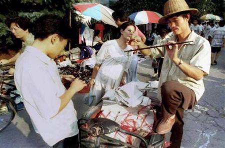 外媒眼中的90年代中国人生活变迁[组图]