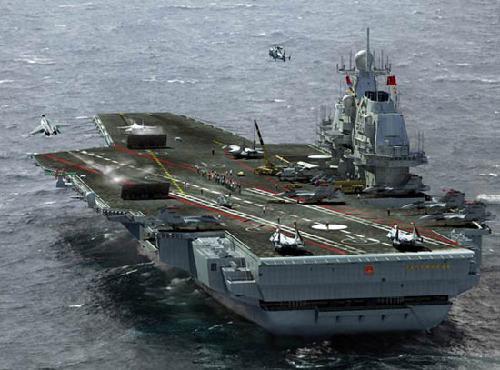"""中国海军可能将暂时性建成""""第四舰队"""""""
