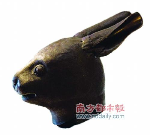 圆明园兔首铜像.(资料图片)-中国律师组团向法追讨国宝