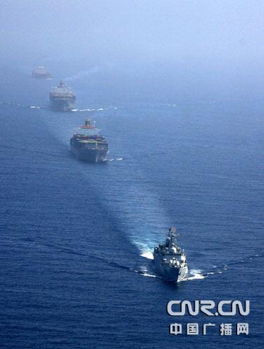 中国海军护航舰队将不明跟踪潜艇逼出水面 - daigaole101 - 我的博客