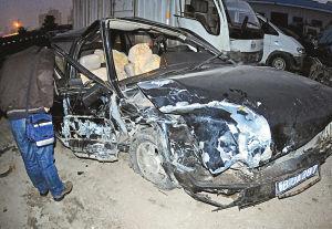 宁波发生一起惨烈车祸致1死3伤图片