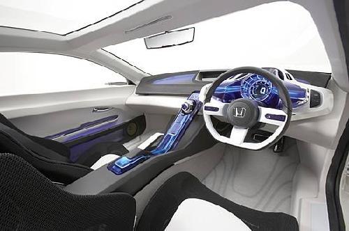 本田CR Z油电混合新车 将于2011年上市高清图片