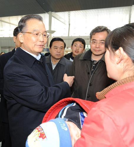 [转载]中国总理温家宝看望阜阳艾滋病孤儿和患者[组图] - 小草 -  高山流水