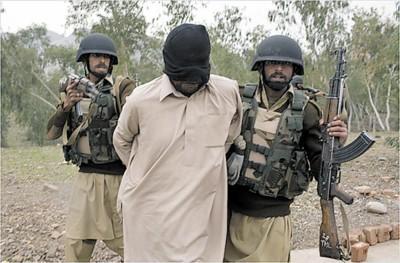 巴基斯坦准军事特种部队22日进行模拟反恐训练-美军为巴基斯坦秘密图片