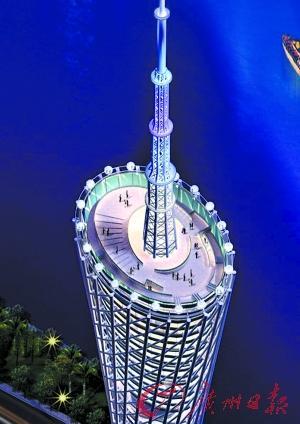 广州新电视塔将建全球最高摩天轮