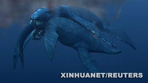 这种曾生活在海洋中的古老生物虽然体长只有15米