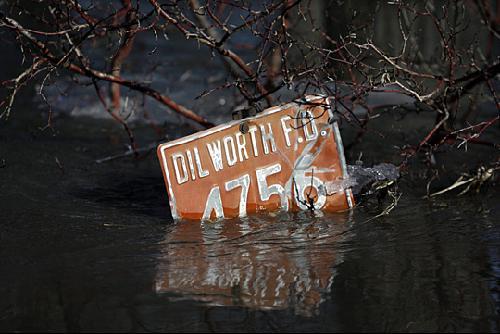 水灾-达科他州法戈市洪灾严重