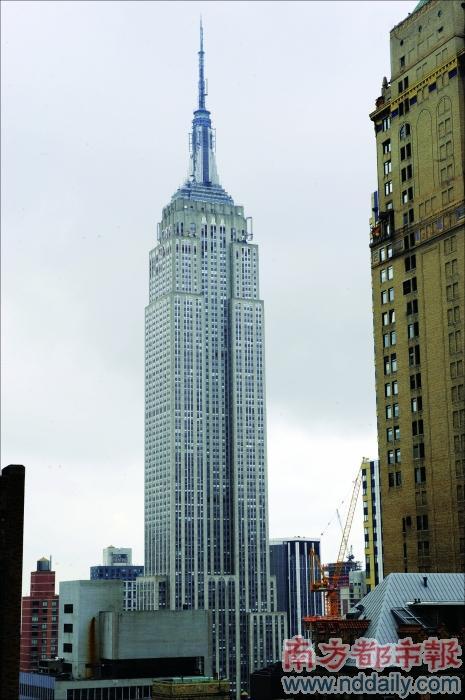 纽约著名风景头像
