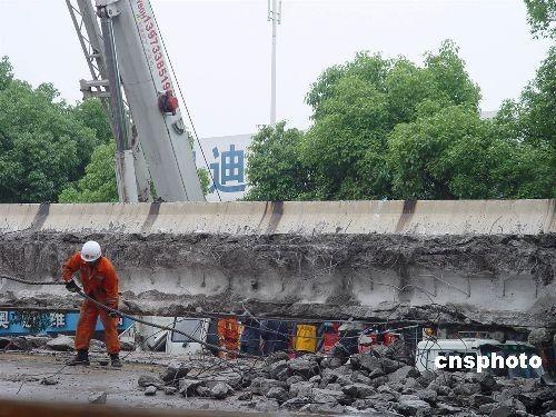 株洲高架桥坍塌事故:专家称坍塌桥面不会扩大