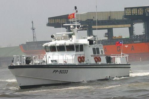 """台""""海巡署""""在南沙海域频繁驱离越南渔船"""
