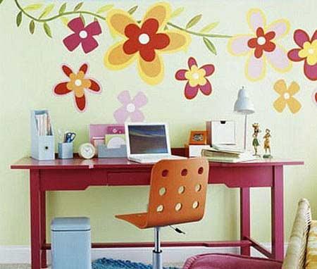 手绘墙面设计 个性你的居室