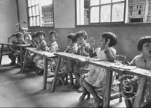 50年代台湾儿童剪影