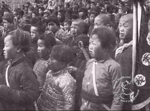 抗日战争时期的儿童团[组图]