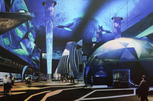 海世博主题馆之未来馆 梦想引领人类城市未来