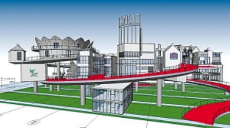 中国2010年上海世博会荷兰馆效果图.-世博荷兰馆将建 快乐街 沿途分图片