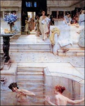 古罗马公共澡堂豪华 可供休闲甚至性爱