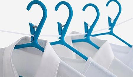 绳子夹子晾晒背景矢量素材