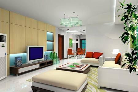 客厅装修是面子工程 美轮美奂的豪宅客厅欣赏[组图]