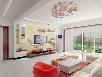 """在家庭装修计中,电视背景墙成了家装设计的""""焦点"""""""