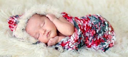 美国摄影师拍宝宝可爱睡姿 照片让人感动(组图)