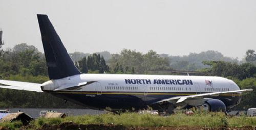 图:美军一架飞机违规被印度空军迫降