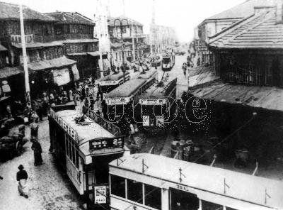 旧上海民国时期逝去的旧梦