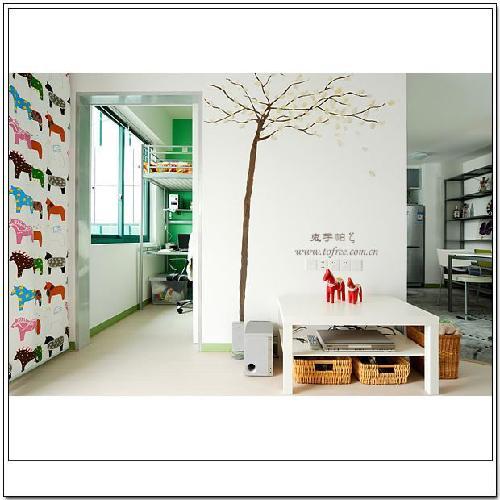小户型宜家风格单身公寓室内设计[组图]