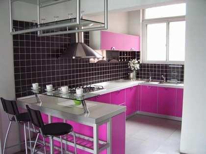 开放式厨房装修案例图片